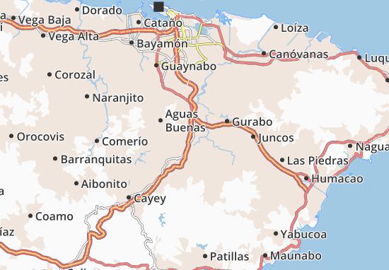 Caguas Map