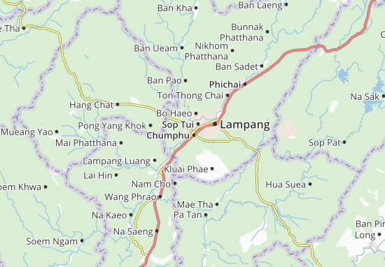 Chumphu Map