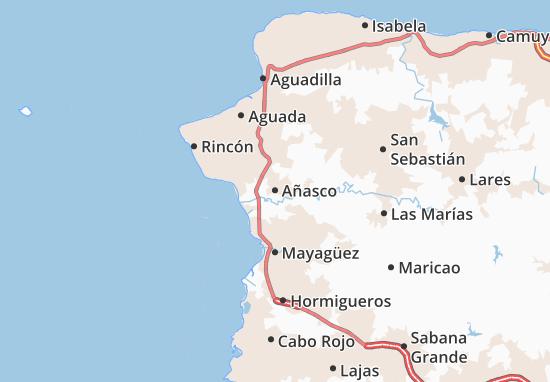 Añasco Map