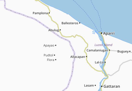 Carte-Plan Santa Marcela