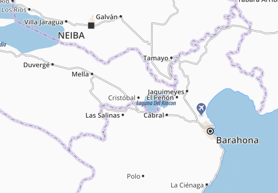 Kaart Plattegrond Cristóbal