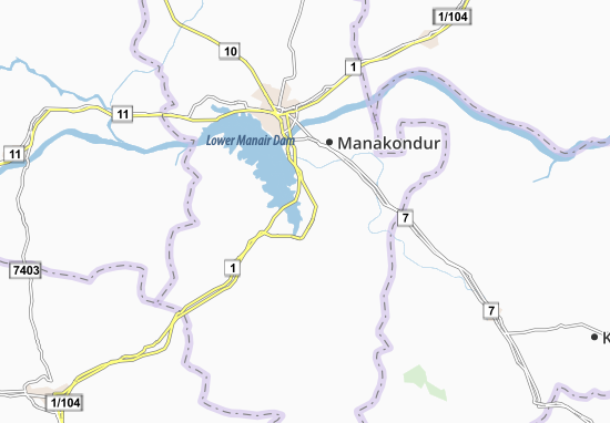 Nustlapur Map