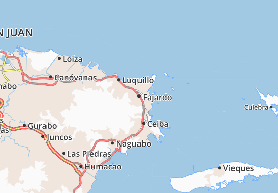 Fajardo Map