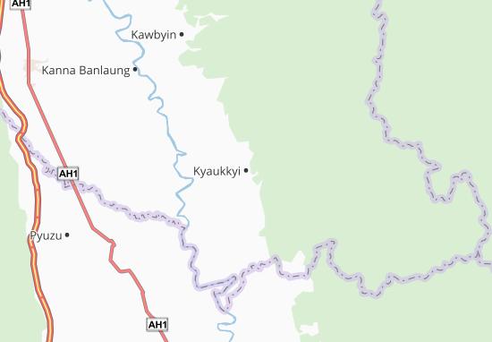 Mapas-Planos Kyaukkyi