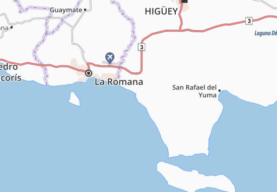 Karte Stadtplan Bahahibe