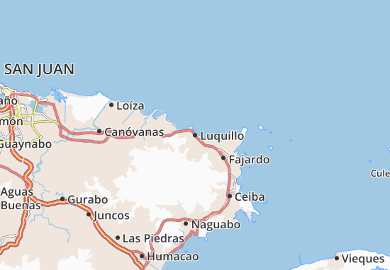 Luquillo Map