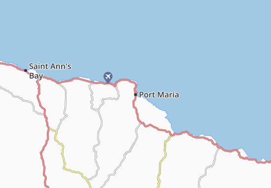 Carte-Plan Port Maria