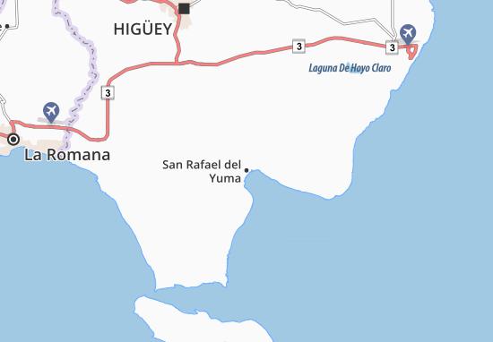 San Rafael del Yuma Map