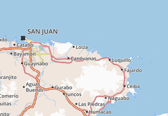 Río Grande Map