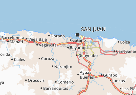 Bayamón Map
