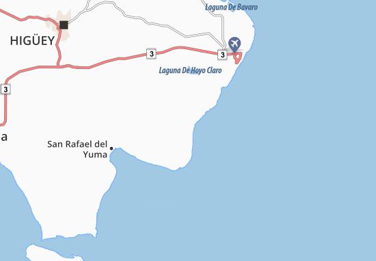 Kaart Plattegrond El Cabo