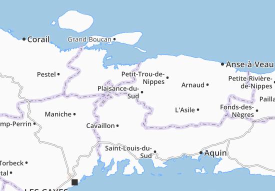 Carte-Plan Plaisance-du-Sud
