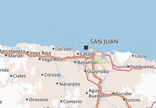 Cataño Map
