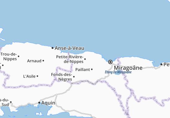 Carte-Plan Petite-Rivière-de-Nippes
