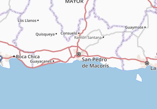 Mappe-Piantine San Pedro de Macorís