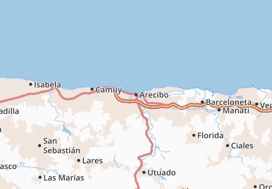 Carte-Plan Arecibo