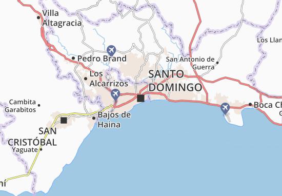 Carte-Plan Santo Domingo