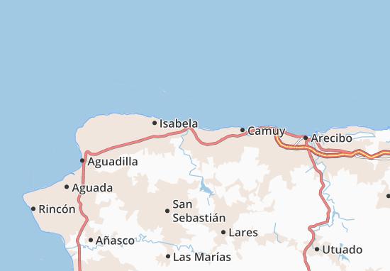 Quebradillas Map