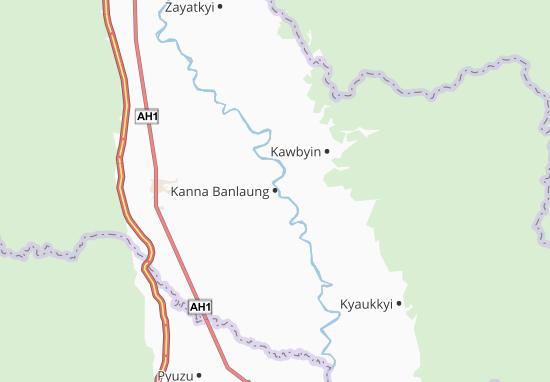 Carte-Plan Kanna Banlaung