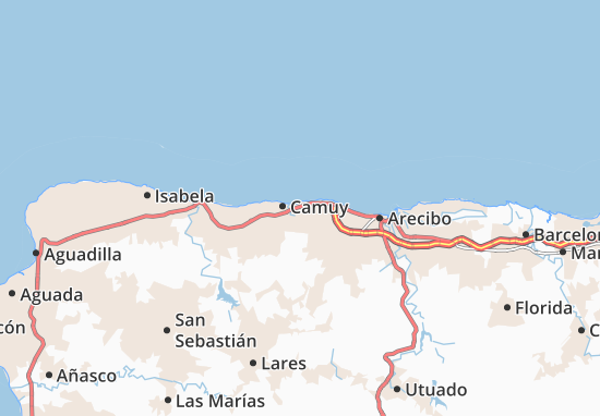 Hatillo Map