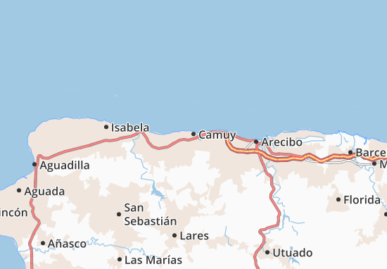 Camuy Map