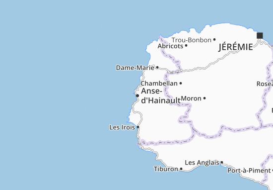 Carte-Plan Anse-d'Hainault