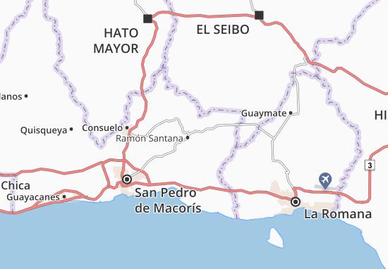 Kaart Plattegrond Amador