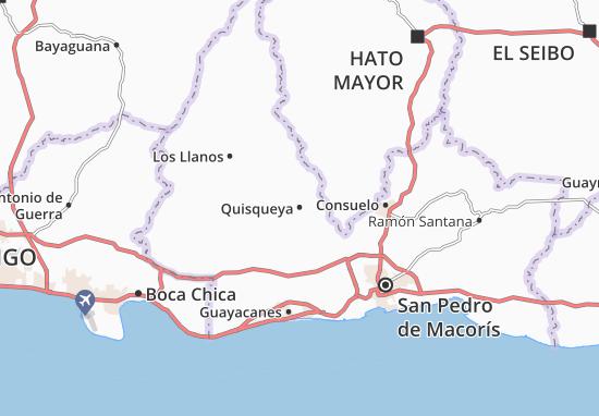 Quisqueya Map