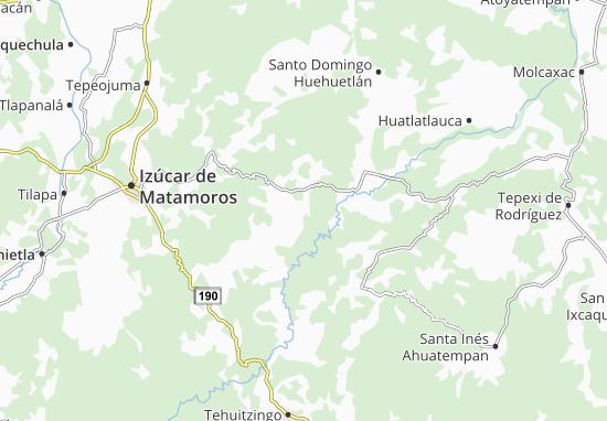 Carte-Plan Ahuatlán