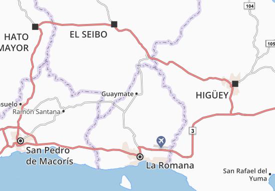 Guaymate Map