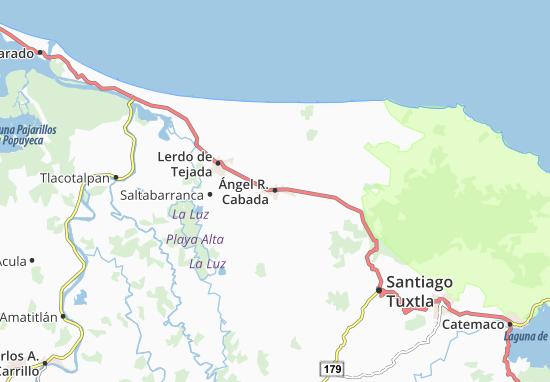 Carte-Plan Ángel R. Cabada