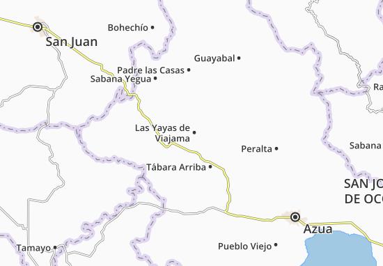Mappe-Piantine Las Yayas de Viajama