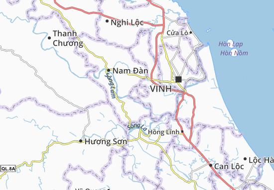 Hưng Lĩnh Map