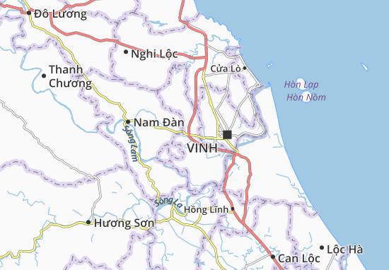 Hưng Nguyên Map