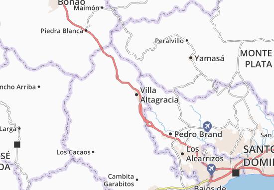 Villa Altagracia Map