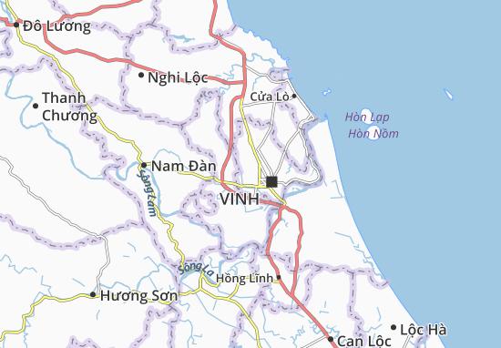 Đông Vĩnh Map