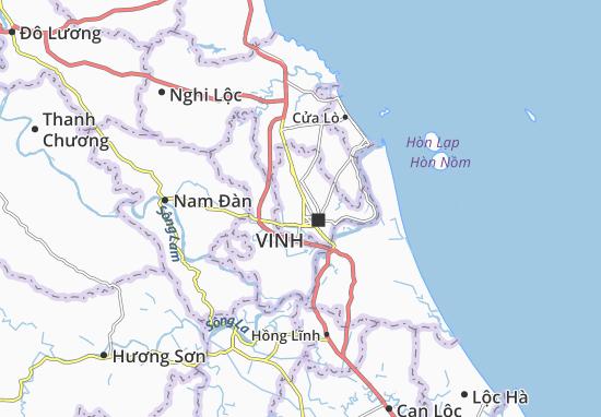Quán Bàu Map