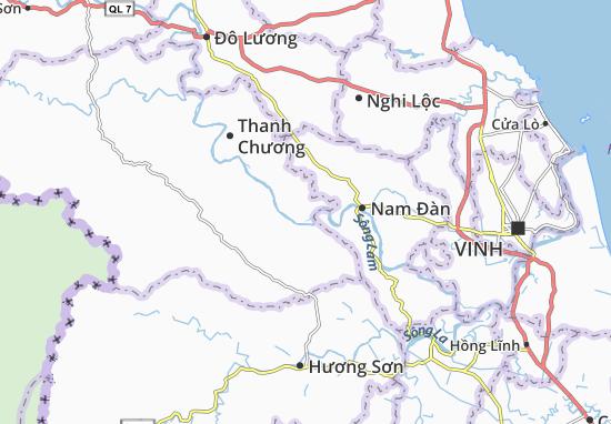 Carte-Plan Thanh Yên