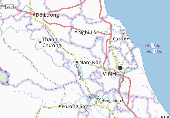 Carte-Plan Nam Xuân