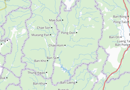 Mappe-Piantine Chae Hom