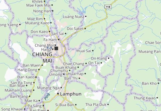 Mapas-Planos San Kamphaeng