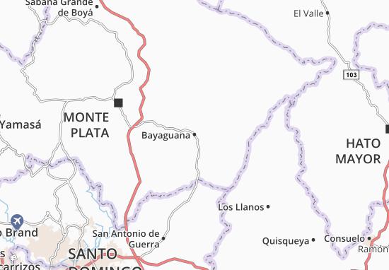 Bayaguana Map