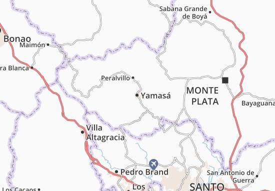 Carte-Plan Yamasá
