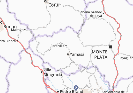 Peralvillo Map
