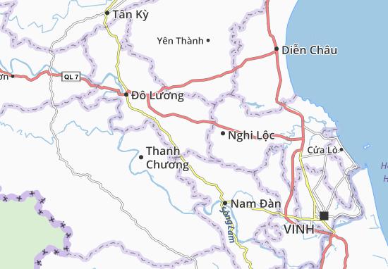 Trù Sơn Map
