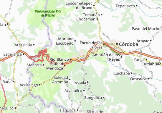 Carte-Plan Orizaba