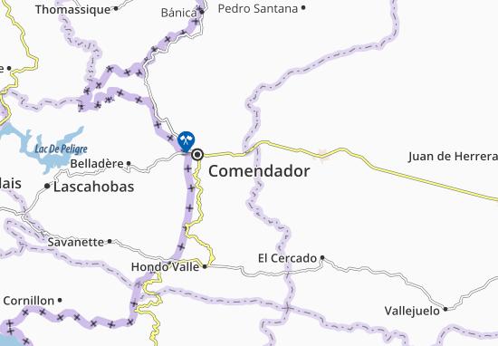 Karte Stadtplan El Llano