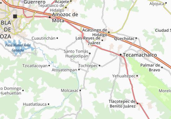Carte-Plan Tlanepantla