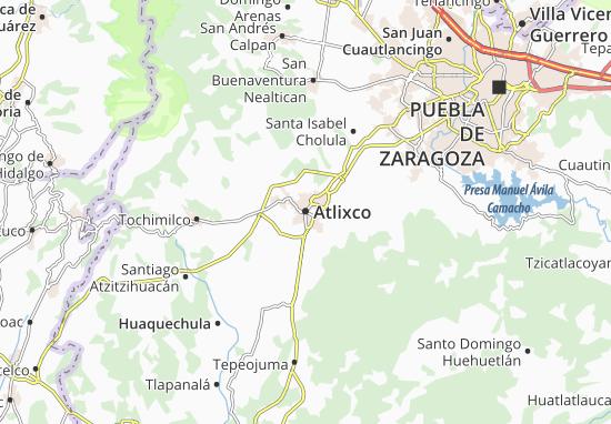 Carte-Plan Atlixco