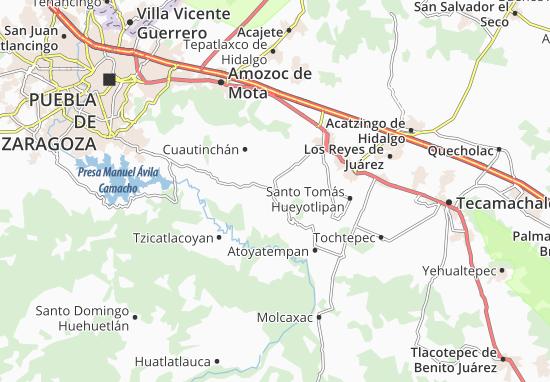 Carte-Plan Tecali de Herrera